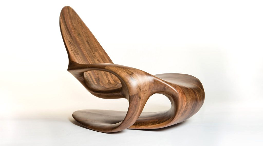Chaise I French Walnut Chair. Production: YSP UK