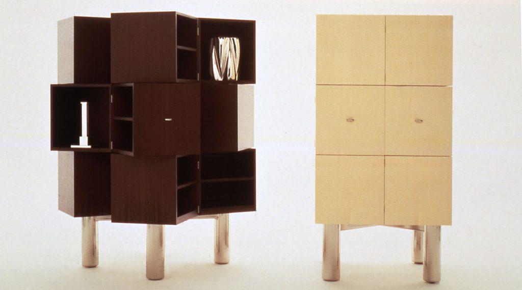 Pando Cabinet. Des: Platt&Young. Production: Sawaya&Moroni, Italy
