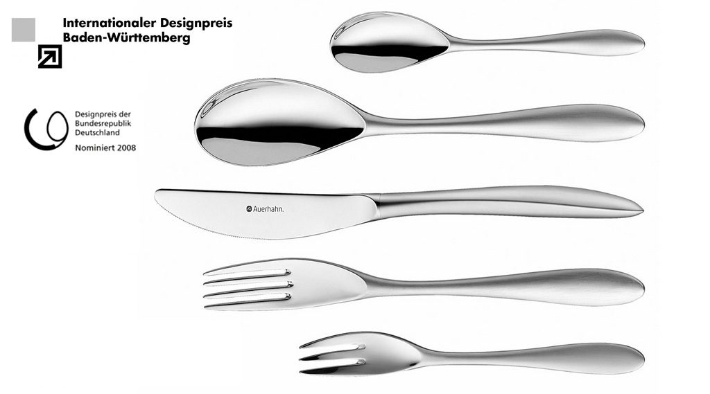 Velvet Cutlery Stainless Steel Production: WMF/Auerhahn, Germany
