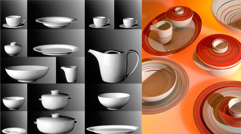 Yono Table Service. Des: Platt&Young. Production: Rosenthal, Germany