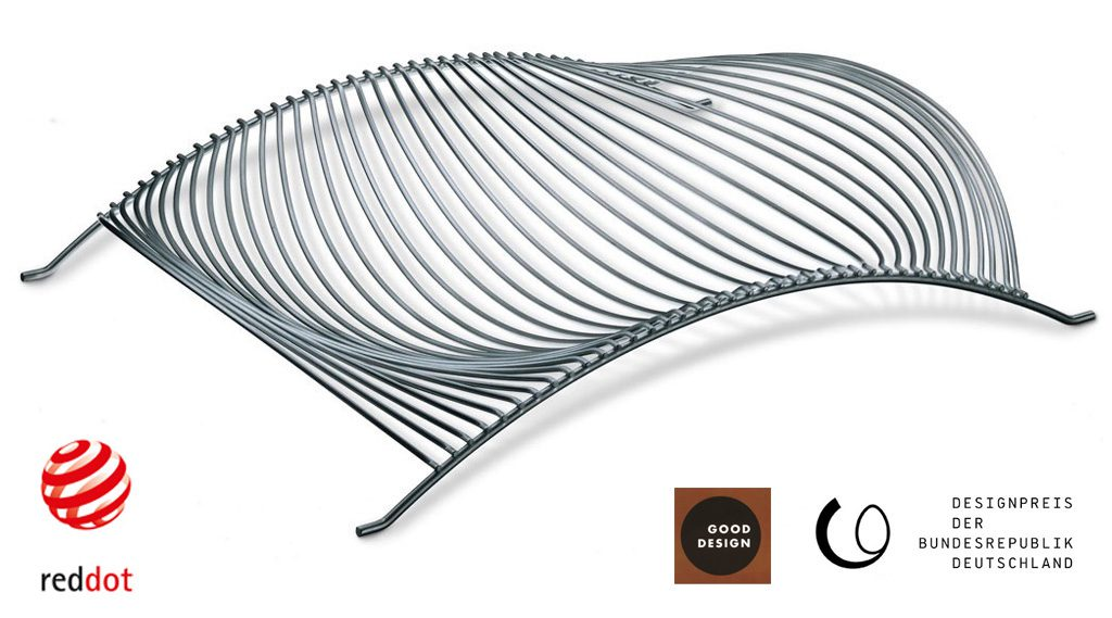 Korb Table Basket Stainless Steel. Production: WMF/Auerhahn, Germany